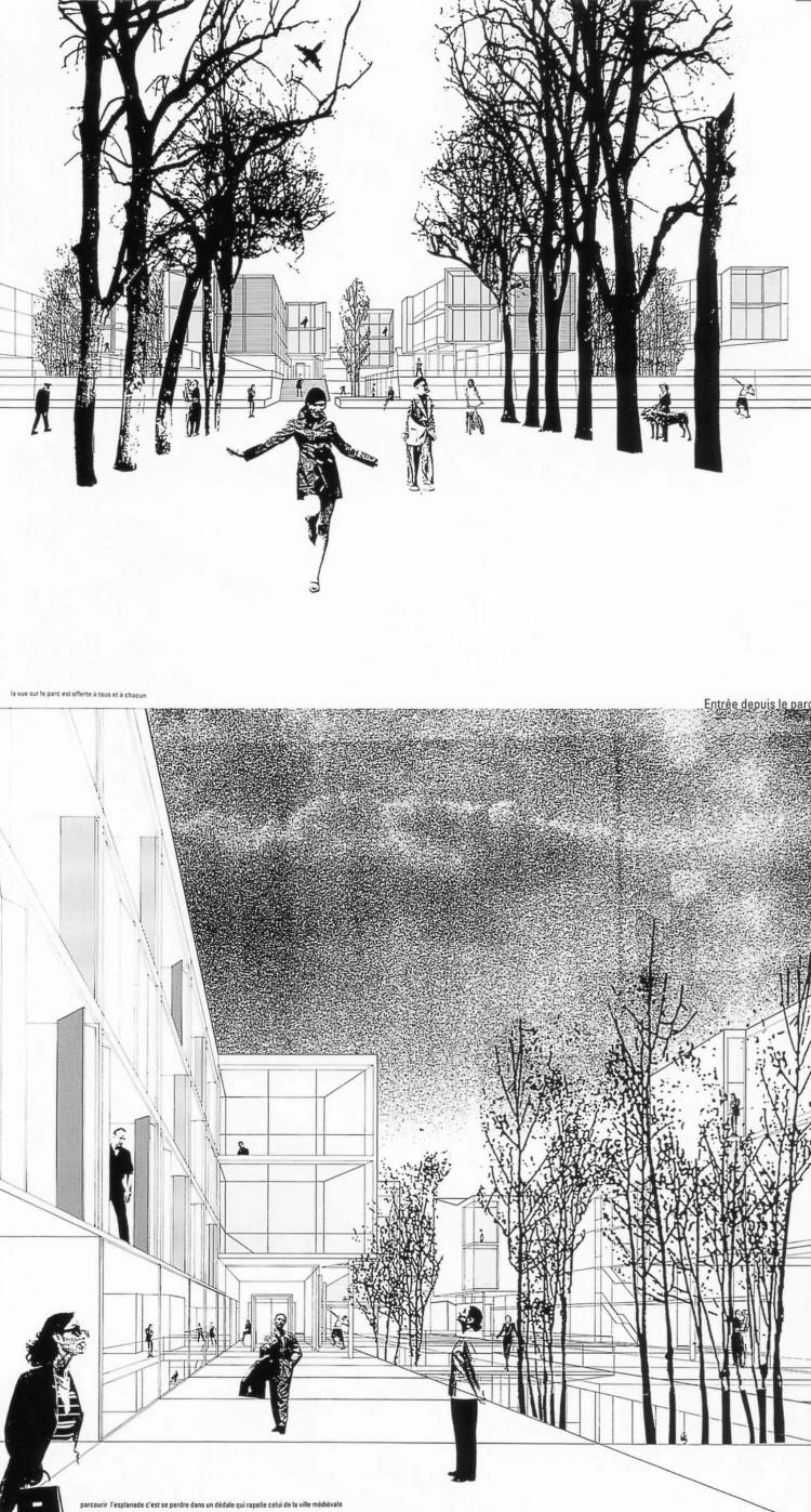 Europan 04 – Construire la ville sur la vile